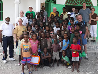 Place of Hope In Haiti Packing Event