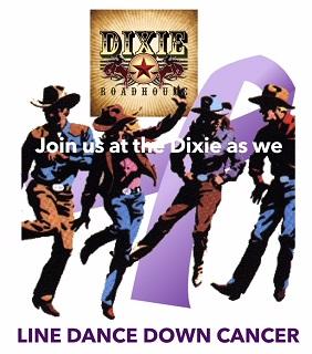 Line Dance Down Cancer