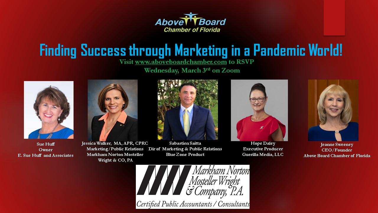 Finding success through marketing in a pandemic world