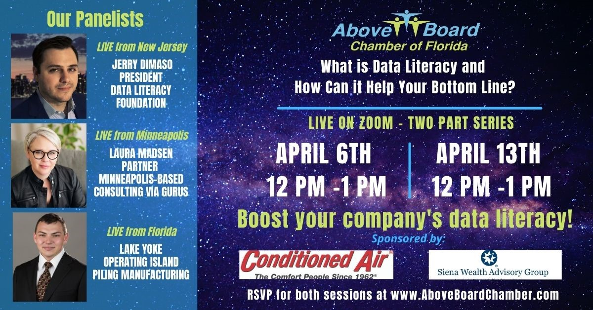 Webinar: What is Data Literacy and how can it help your bottom line