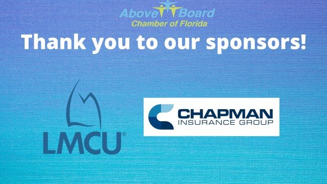 Event Sponsors LMCU and Chapman Insurance
