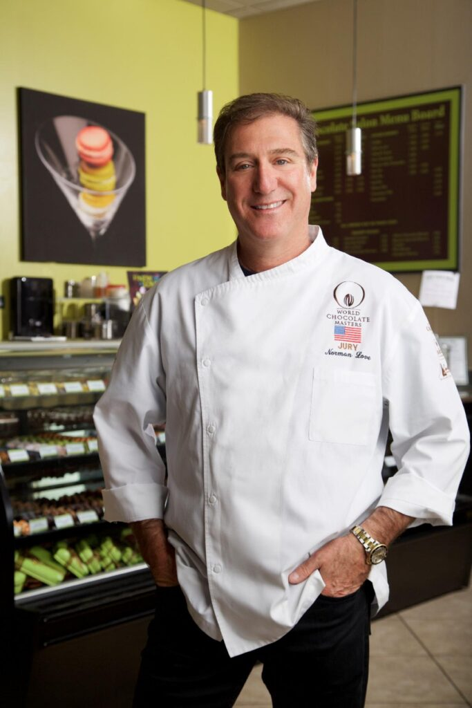 Norman Love, Internationally acclaimed Pastry Chef and Chocolatier