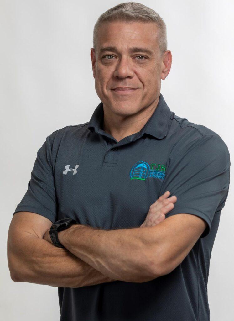 Scott Leamon, President of TJS Janitorial Floor Care, LLC and TJS Elite Residential